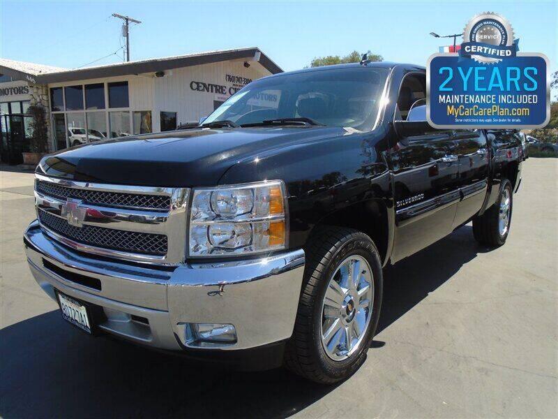 2012 Chevrolet Silverado 1500 for sale at Centre City Motors in Escondido CA