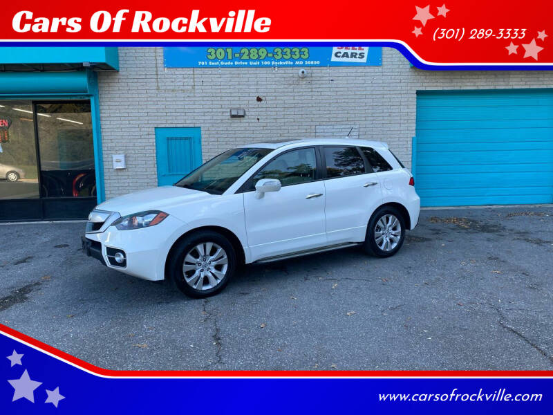 2012 Acura RDX for sale at Cars Of Rockville in Rockville MD