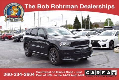 2018 Dodge Durango for sale at BOB ROHRMAN FORT WAYNE TOYOTA in Fort Wayne IN