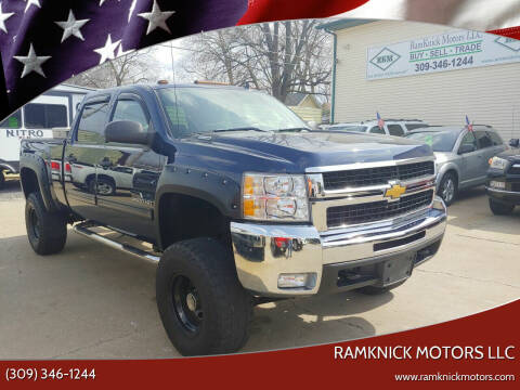 2009 Chevrolet Silverado 2500HD for sale at RamKnick Motors LLC in Pekin IL