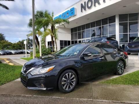 2017 Nissan Altima for sale at Mazda of North Miami in Miami FL