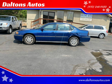2005 Chevrolet Impala for sale at Daltons Autos in Grand Junction CO