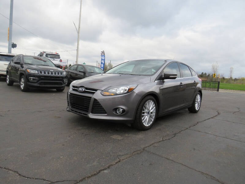 2014 Ford Focus for sale at A to Z Auto Financing in Waterford MI