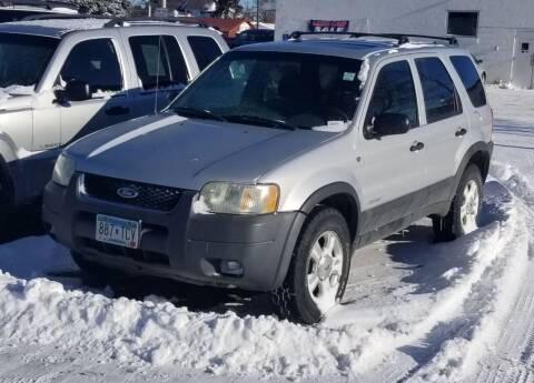 2002 Ford Escape for sale at Tower Motors in Brainerd MN