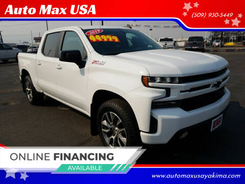 2019 Chevrolet Silverado 1500 for sale at Auto Max USA in Yakima WA