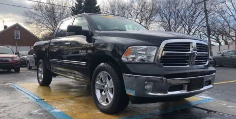 2013 RAM Ram Pickup 1500 for sale at NUMBER 1 CAR COMPANY in Warren MI