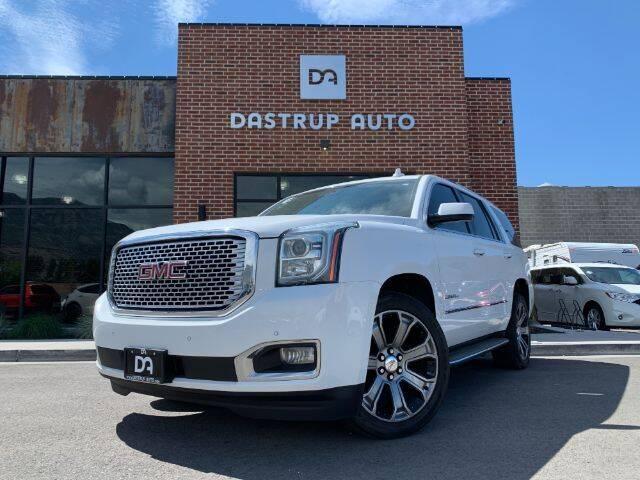 2015 GMC Yukon for sale at Dastrup Auto in Lindon UT