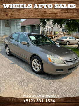 2006 Honda Accord for sale at Wheels Auto Sales in Bloomington IN