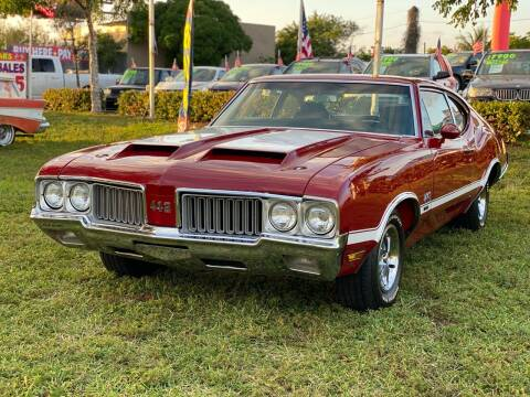 1970 Oldsmobile 442 for sale at KD's Auto Sales in Pompano Beach FL