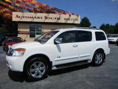 2009 Nissan Armada for sale at Automart South in Alabaster AL