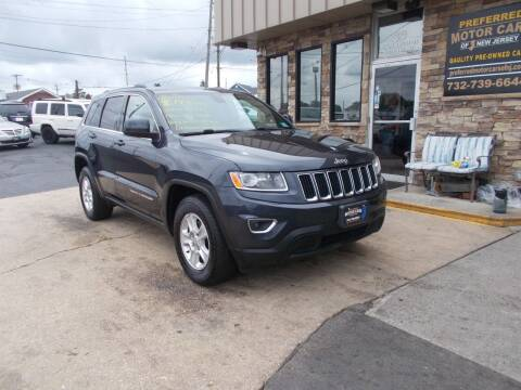 2015 Jeep Grand Cherokee for sale at Preferred Motor Cars of New Jersey in Keyport NJ