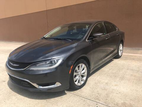 2015 Chrysler 200 for sale at ALL STAR MOTORS INC in Houston TX
