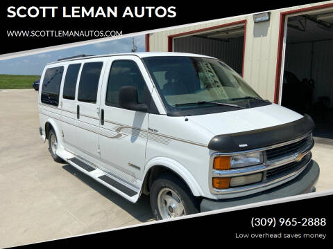 1996 Chevrolet Express Cargo for sale at SCOTT LEMAN AUTOS in Goodfield IL