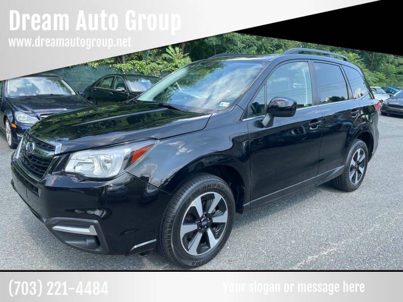 2017 Subaru Forester for sale at Dream Auto Group in Dumfries VA