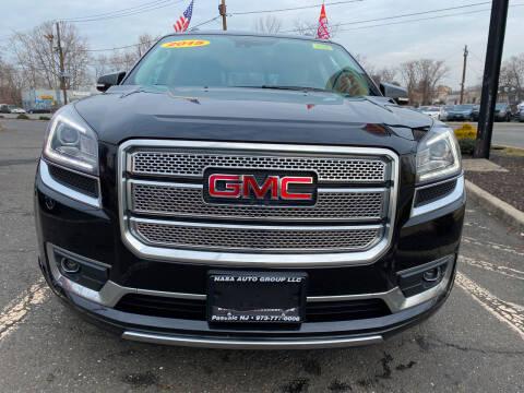 2015 GMC Acadia for sale at Nasa Auto Group LLC in Passaic NJ
