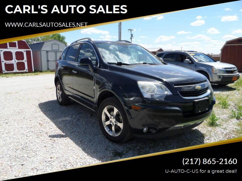 2012 Chevrolet Captiva Sport for sale at CARL'S AUTO SALES in Boody IL