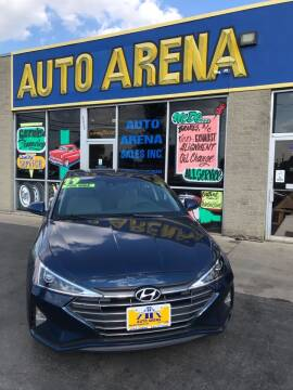 2019 Hyundai Elantra for sale at Auto Arena in Fairfield OH