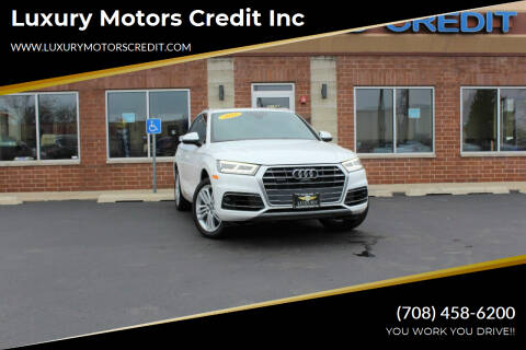 2018 Audi Q5 for sale at Luxury Motors Credit Inc in Bridgeview IL