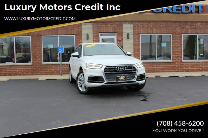2018 Audi Q5 for sale at Luxury Motors Credit Inc in Bridgeview IL