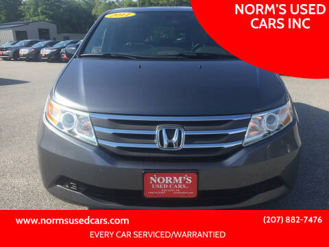 2011 Honda Odyssey for sale at NORM'S USED CARS INC in Wiscasset ME