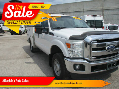 2011 Ford F-250 Super Duty for sale at Affordable Auto Sales in Olathe KS