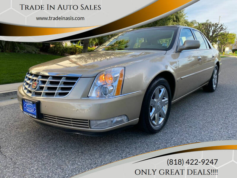 2006 Cadillac DTS for sale at Trade In Auto Sales in Van Nuys CA