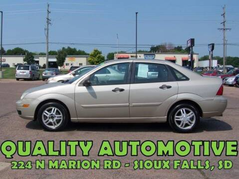 2006 Ford Focus for sale at Quality Automotive in Sioux Falls SD