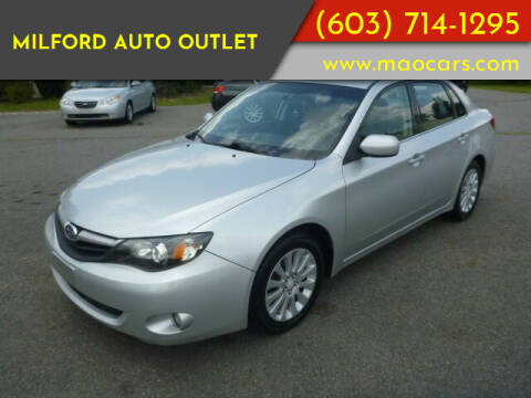 2010 Subaru Impreza for sale at Milford Auto Outlet in Milford NH