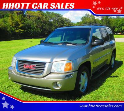 2003 GMC Envoy for sale at HHOTT CAR SALES in Deerfield Beach FL