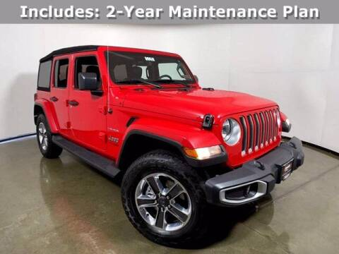 2020 Jeep Wrangler Unlimited for sale at Smart Motors in Madison WI