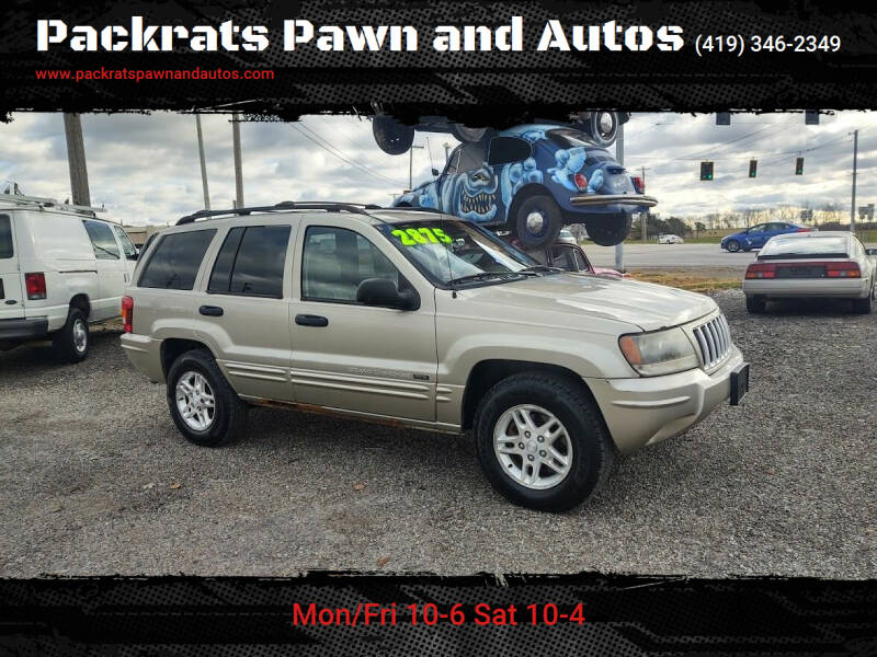 2004 Jeep Grand Cherokee for sale at Packrats Pawn and Autos in Defiance OH