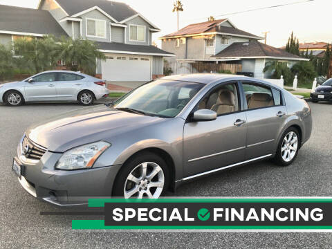 2007 Nissan Maxima for sale at Carmelo Auto Sales Inc in Orange CA