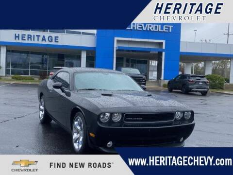 2013 Dodge Challenger for sale at HERITAGE CHEVROLET INC in Creek MI