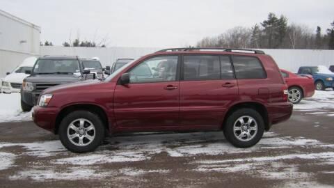 2005 Toyota Highlander for sale at Superior Auto of Negaunee in Negaunee MI