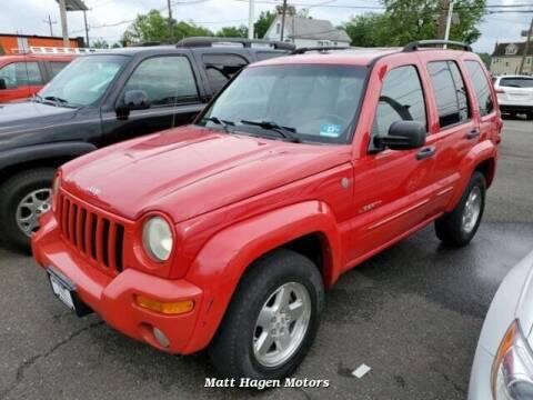 2004 Jeep Liberty for sale at Matt Hagen Motors in Newport NC