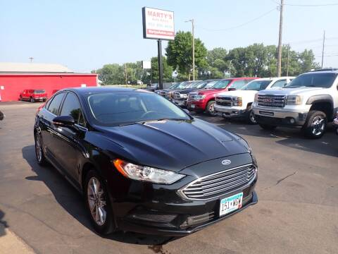 2017 Ford Fusion for sale at Marty's Auto Sales in Savage MN