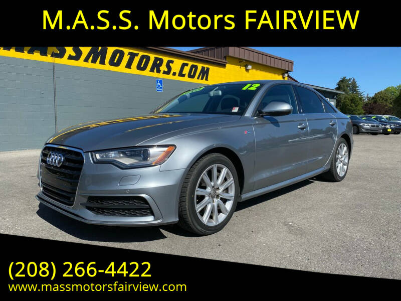 2012 Audi A6 for sale at M.A.S.S. Motors - Fairview in Boise ID