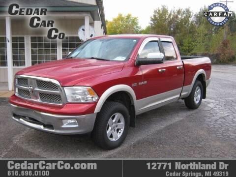 2010 Dodge Ram Pickup 1500 for sale at Cedar Car Co in Cedar Springs MI