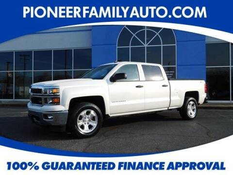 2014 Chevrolet Silverado 1500 for sale at Pioneer Family auto in Marietta OH