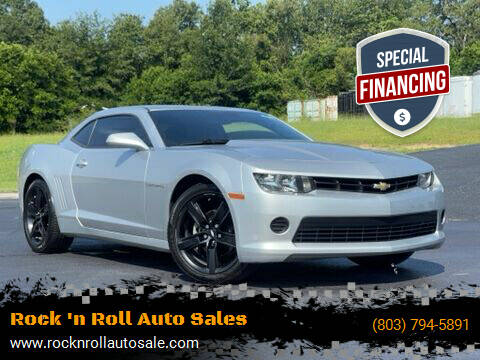 2015 Chevrolet Camaro for sale at Rock 'n Roll Auto Sales in West Columbia SC