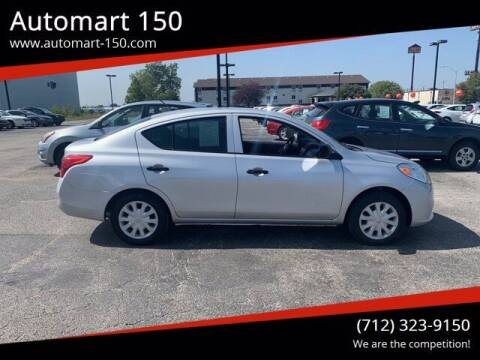 2013 Nissan Versa for sale at Automart 150 in Council Bluffs IA