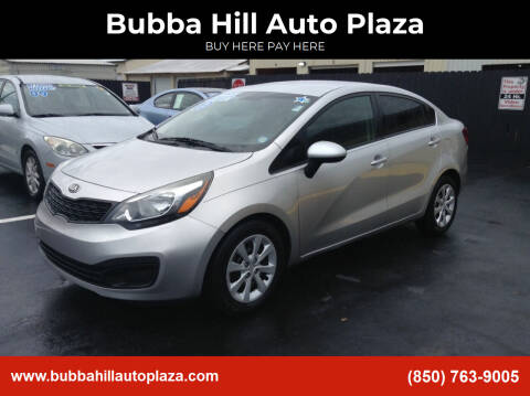 2013 Kia Rio for sale at Bubba Hill Auto Plaza in Panama City FL