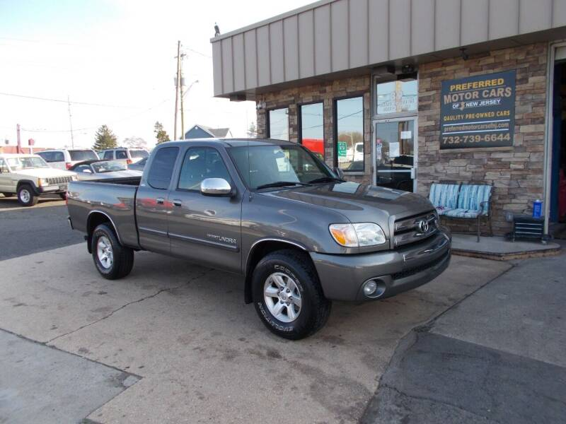 2005 Toyota Tundra for sale at Preferred Motor Cars of New Jersey in Keyport NJ