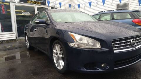 2010 Nissan Maxima for sale at Plaistow Auto Group in Plaistow NH