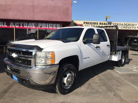2012 Chevrolet Silverado 3500HD CC for sale at Sanmiguel Motors in South Gate CA