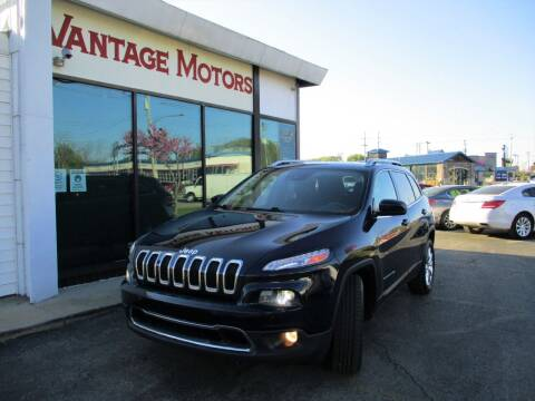 2014 Jeep Cherokee for sale at Vantage Motors LLC in Raytown MO
