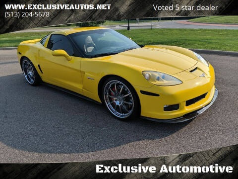 2009 Chevrolet Corvette for sale at Exclusive Automotive in West Chester OH