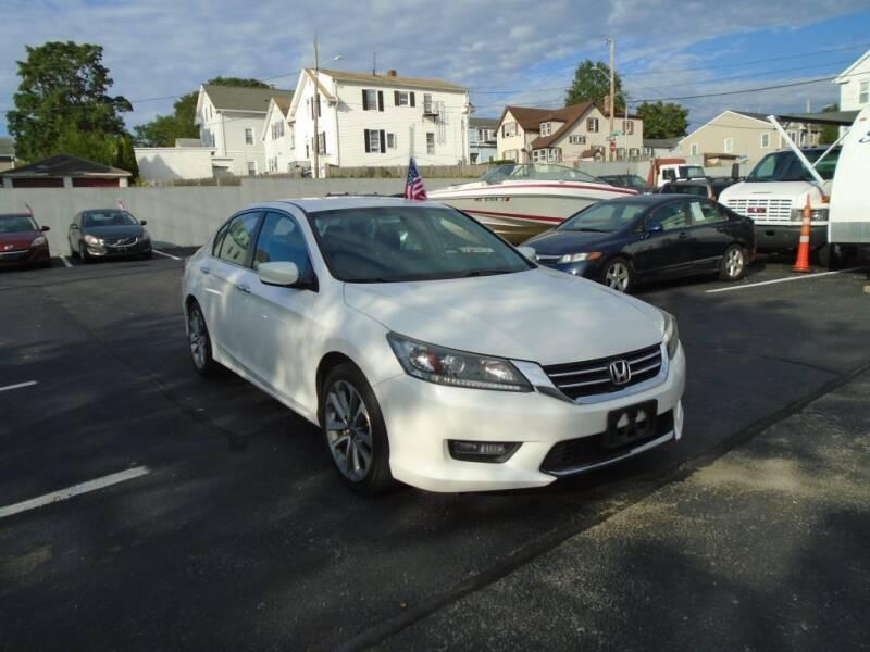 2014 Honda Accord for sale at Gemini Auto Sales in Providence RI