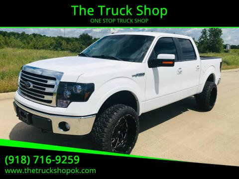 2014 Ford F-150 for sale at The Truck Shop in Okemah OK