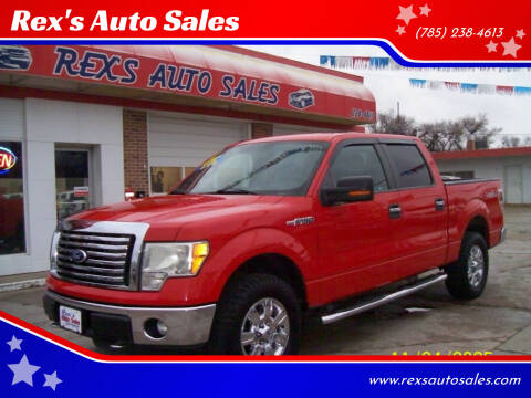 2011 Ford F-150 for sale at Rex's Auto Sales in Junction City KS